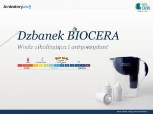 Dzbanek jonizujący wodę Biocera