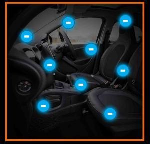 Jonizacja powietrza w samochodzie