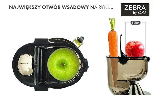 Zebra Whole Slow Juicer